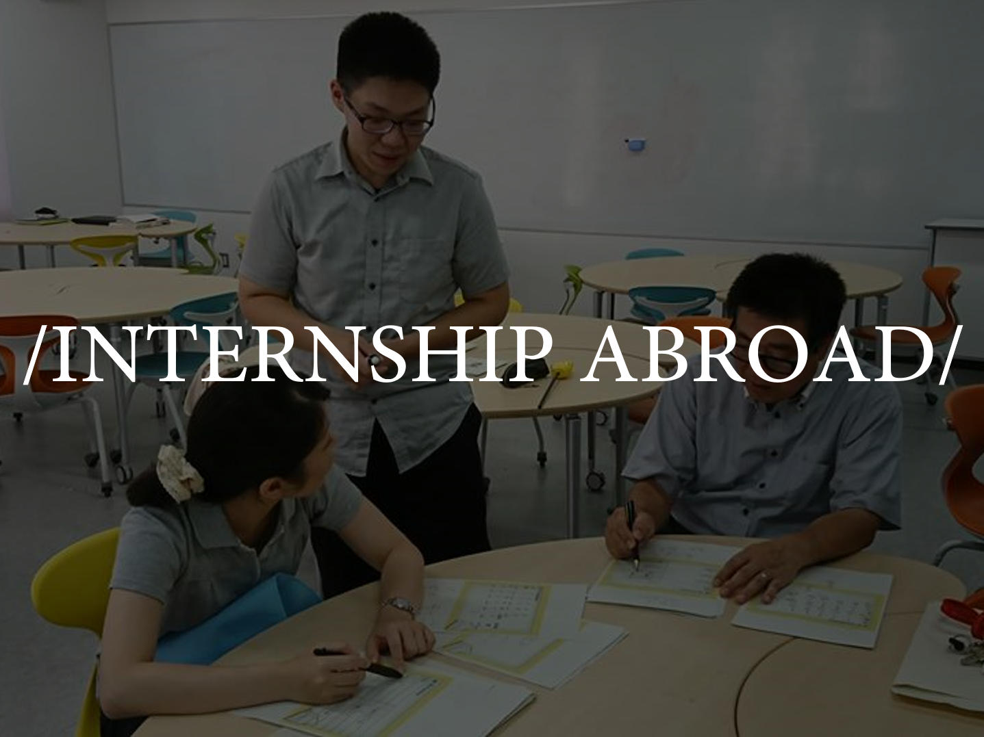 INTERSHIP ABROAD